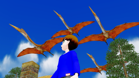 [MMD] Seeing the giants of the skies by AmazingNascar221