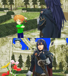 [MMD] Coover thanking Lucina