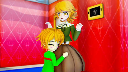 [MMD] Chihiro's hug from Coover
