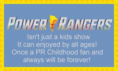 PR isn't just a kids show [stamp]