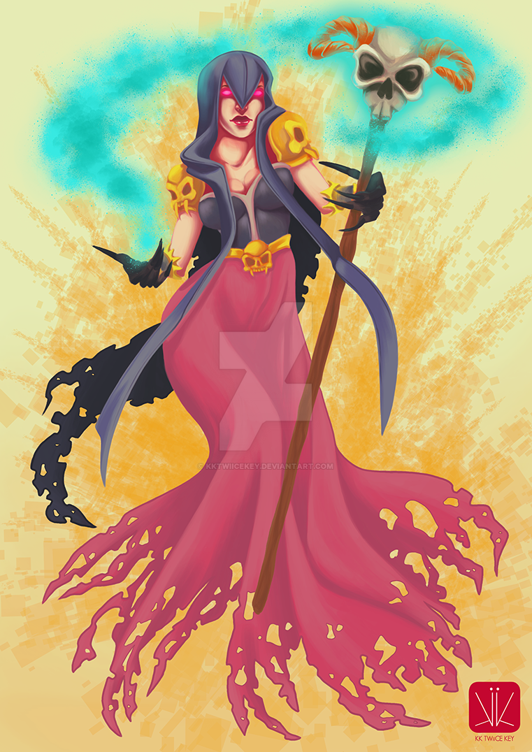Clash of clans - Witch by kktwiicekey on DeviantArt