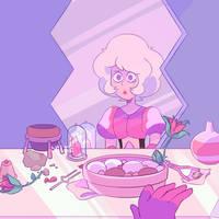 Pink by peachiibon