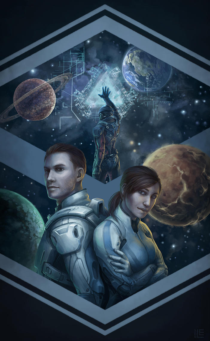 Mass Effect: Andromeda by Lei-Ren