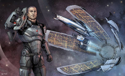 Mass Effect Commission by Lei-Ren