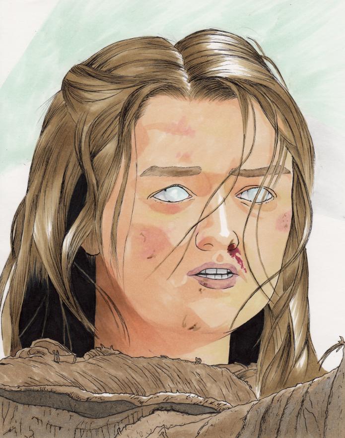 Arya Stark by Zalfurius