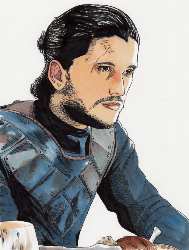 Jon Snow by Zalfurius