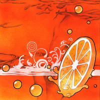 Orange Juice by artistm0nk