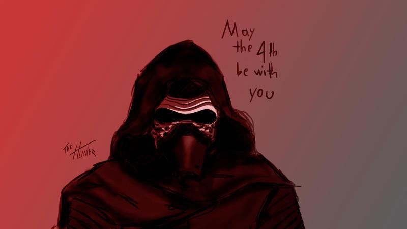 Kylo Ren Fan Art by The-Hunter-H