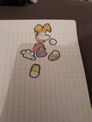 Rayman by LemonTheJuicy