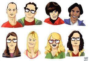 Big Bang Theory Fanart