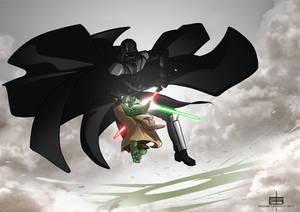 Vador vs Yoda