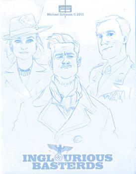 Inglourious Basterds Sketches