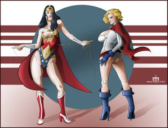 Double Trinquette Power GirlWonder Woman