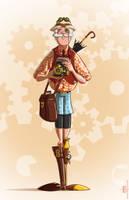 Steampunk explorer by MichaelSchauss