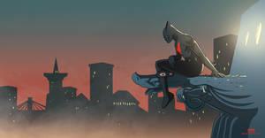 Batman Beyond by MichaelSchauss
