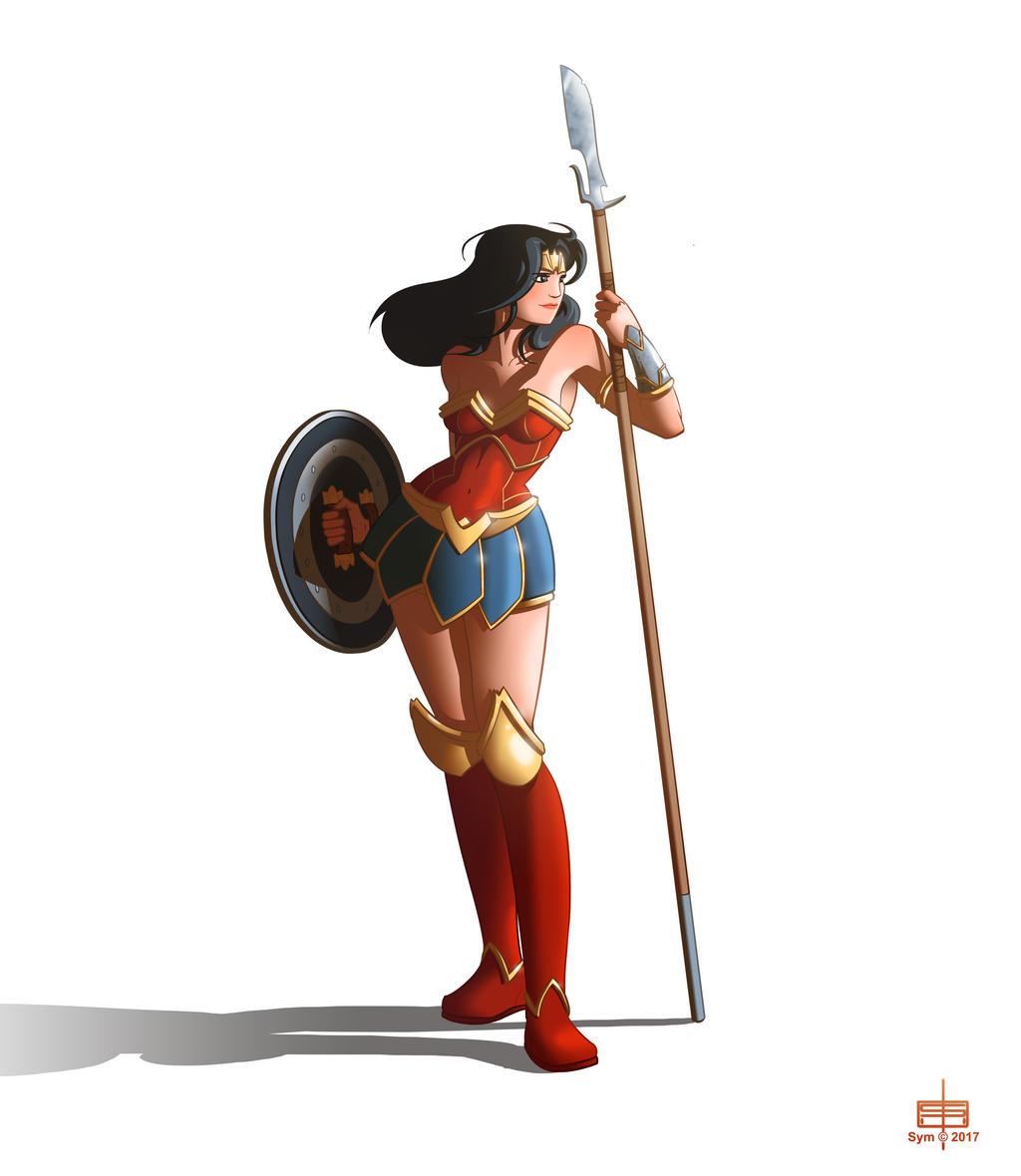 Wonder Woman by MichaelSchauss