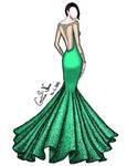 sparkling haute couture