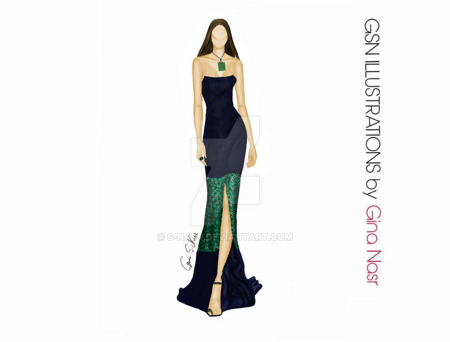 Illustration From Nyfw For Zang Toi Ss201 By S Nasr On