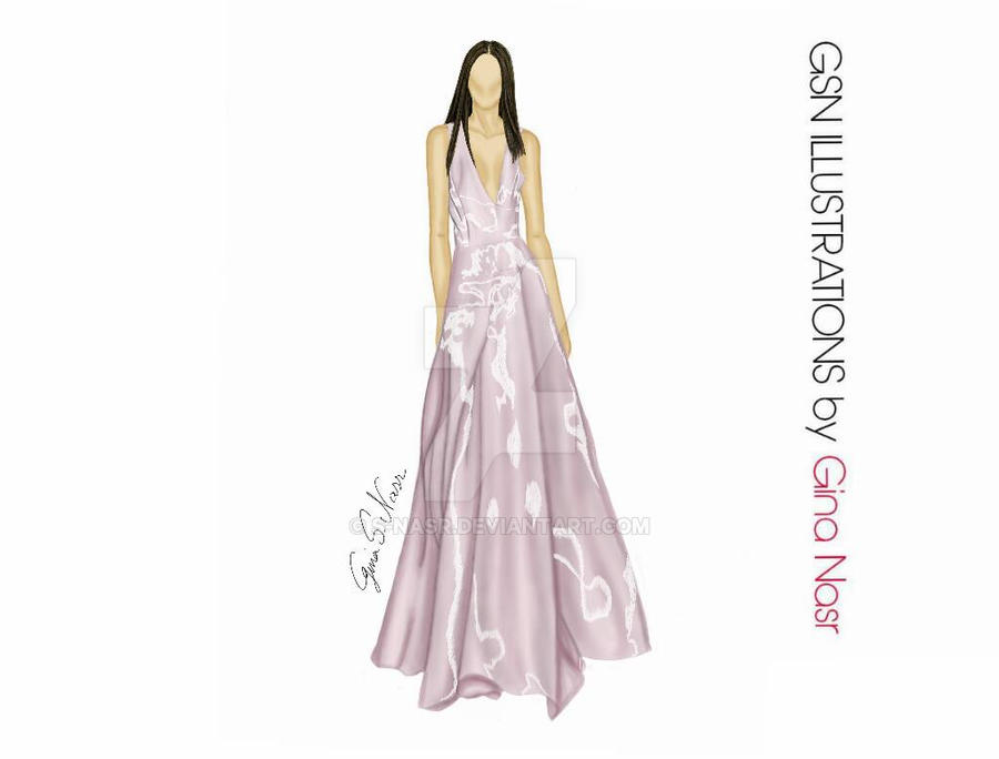 Illustration From Nyfw For Pamella Rolland Ss201 By S Nasr