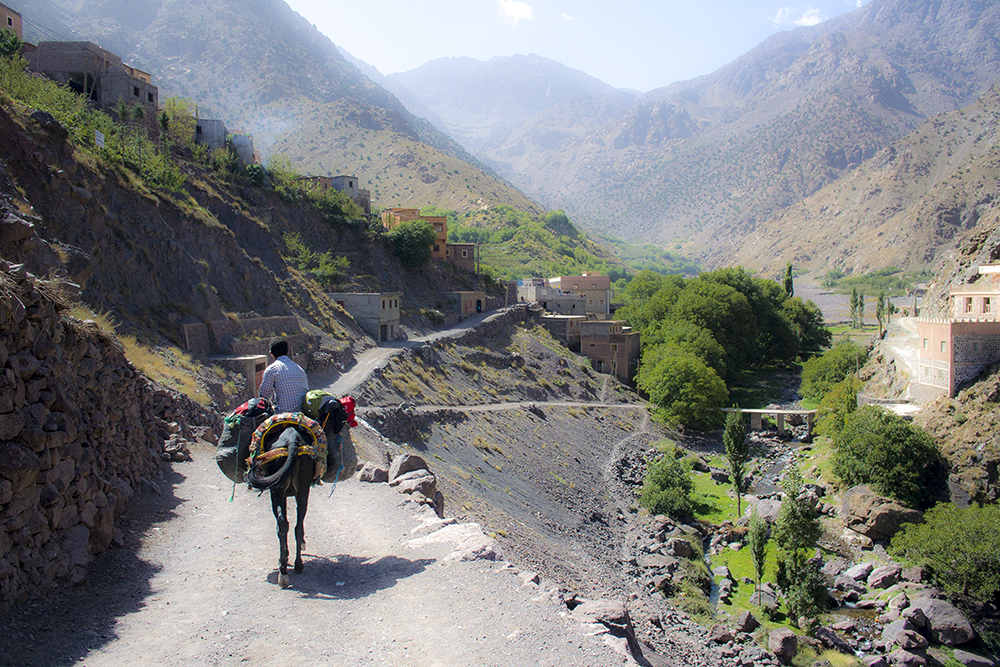 The Road to Toubkal by NiceTie