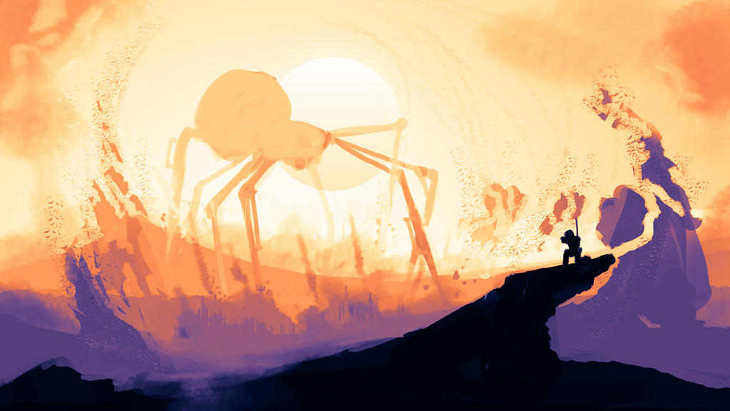 Giant Spider by NiceTie