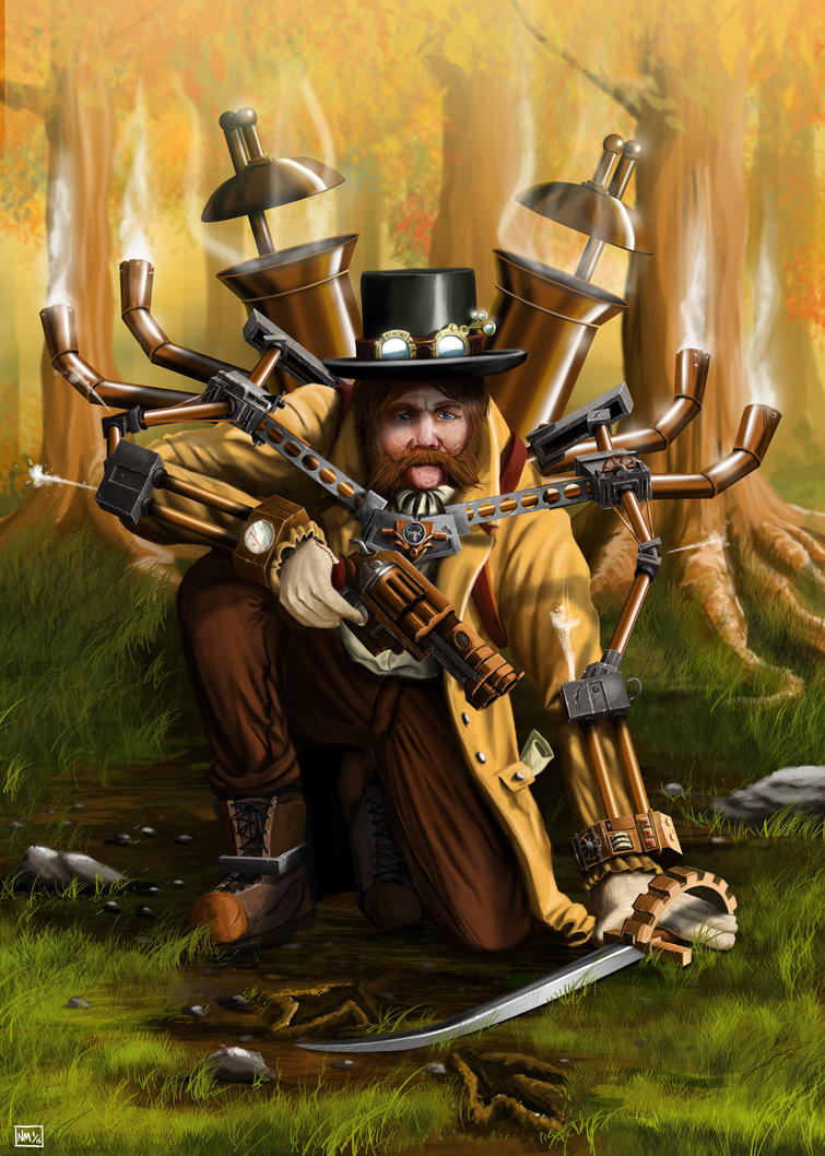 Steampunk Warrior! by NiceTie