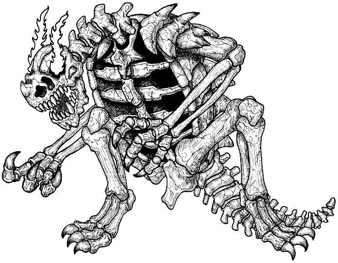 dem bones coloring pages