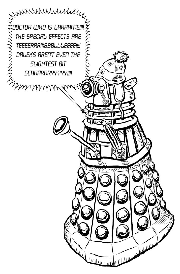 Nerdy Dalek by GerrySwanson