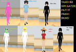 Filthy Frank Yandere Simulator skins