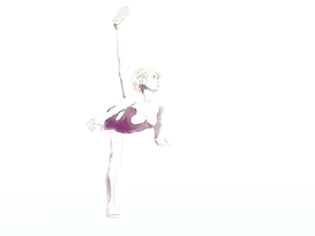 Stretch Drawing by charliemc