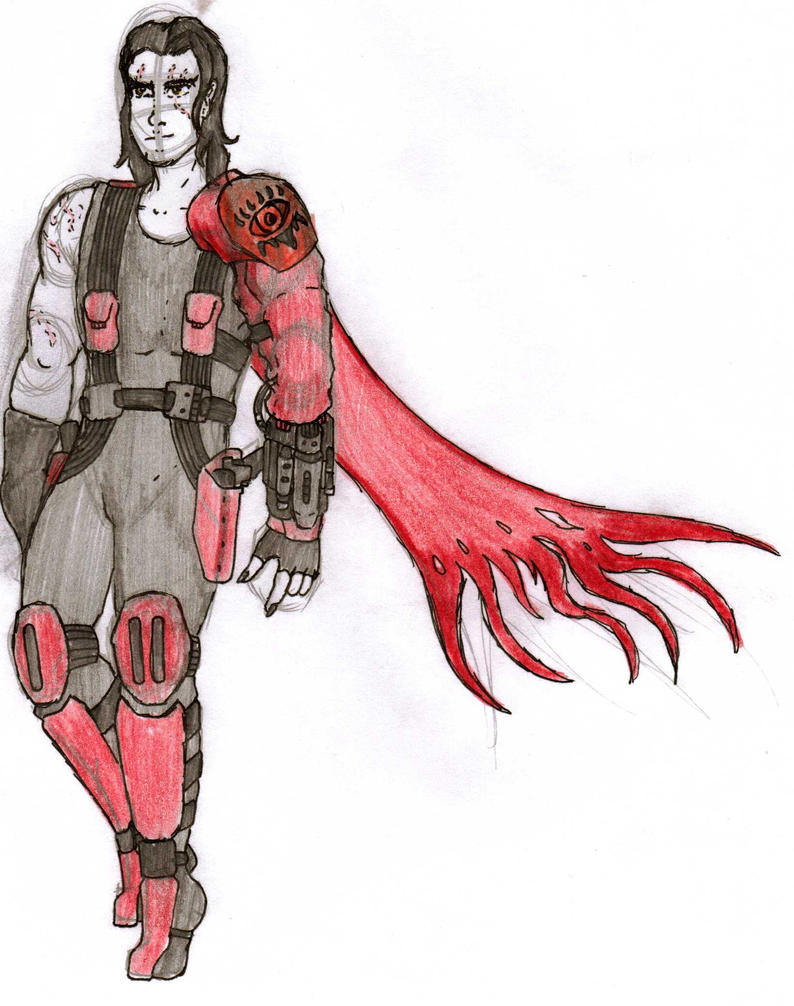 DC Comic Project: Vlad by Foxy-Knight