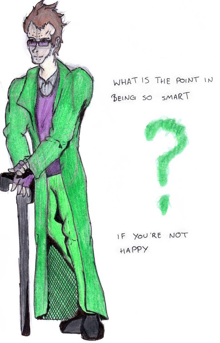 DC Comic project-Edward Nigma by Foxy-Knight