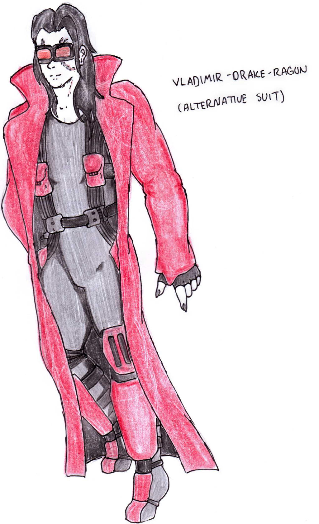 DC Comic Project: Vlad's coat by Foxy-Knight