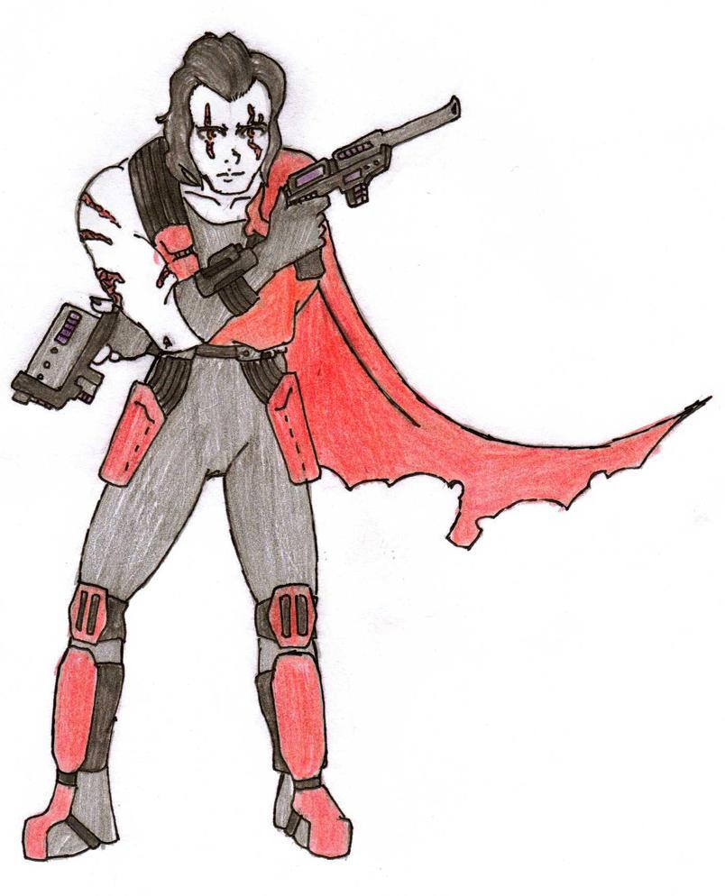 DC Comic Project: Vladimir Drake Ragun by Foxy-Knight
