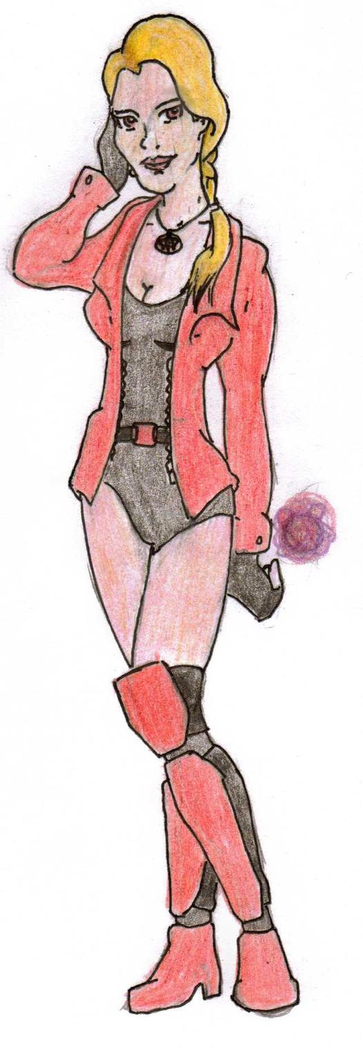 DC Comic Project: Melanie Walker by Foxy-Knight