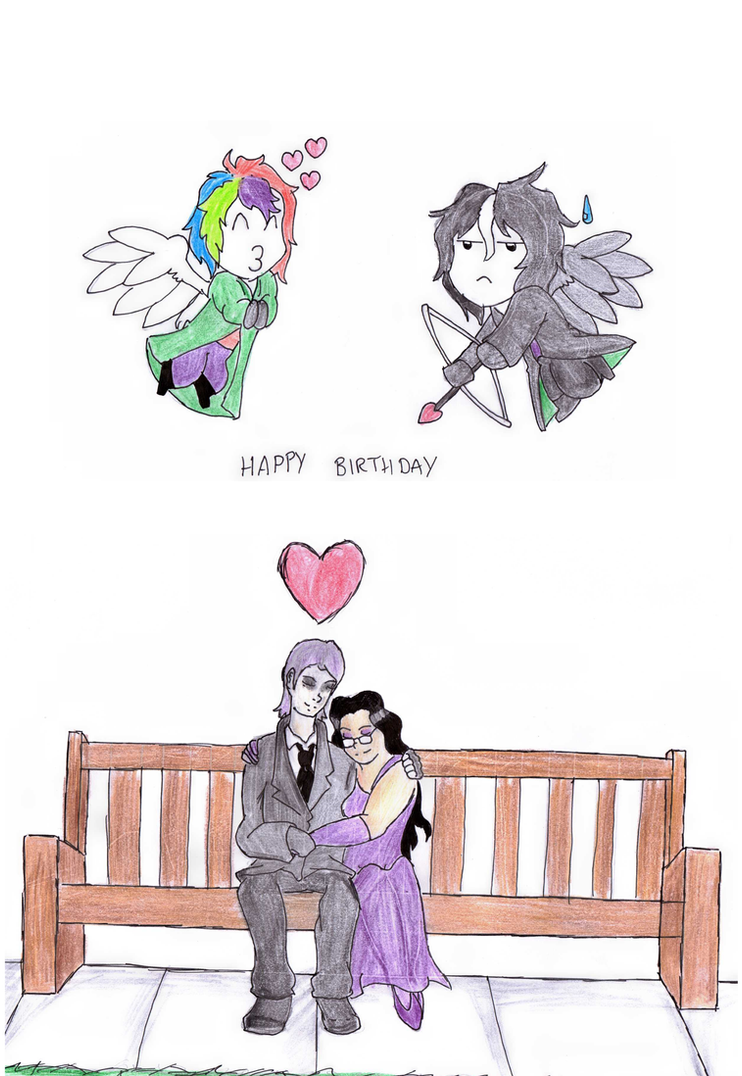 Birthday Collaboration-Happy Birthday Vivi by Foxy-Knight