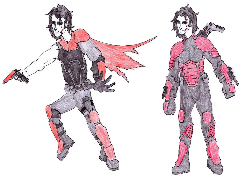 DC Comic Project: Character Profile-Vlad by Foxy-Knight