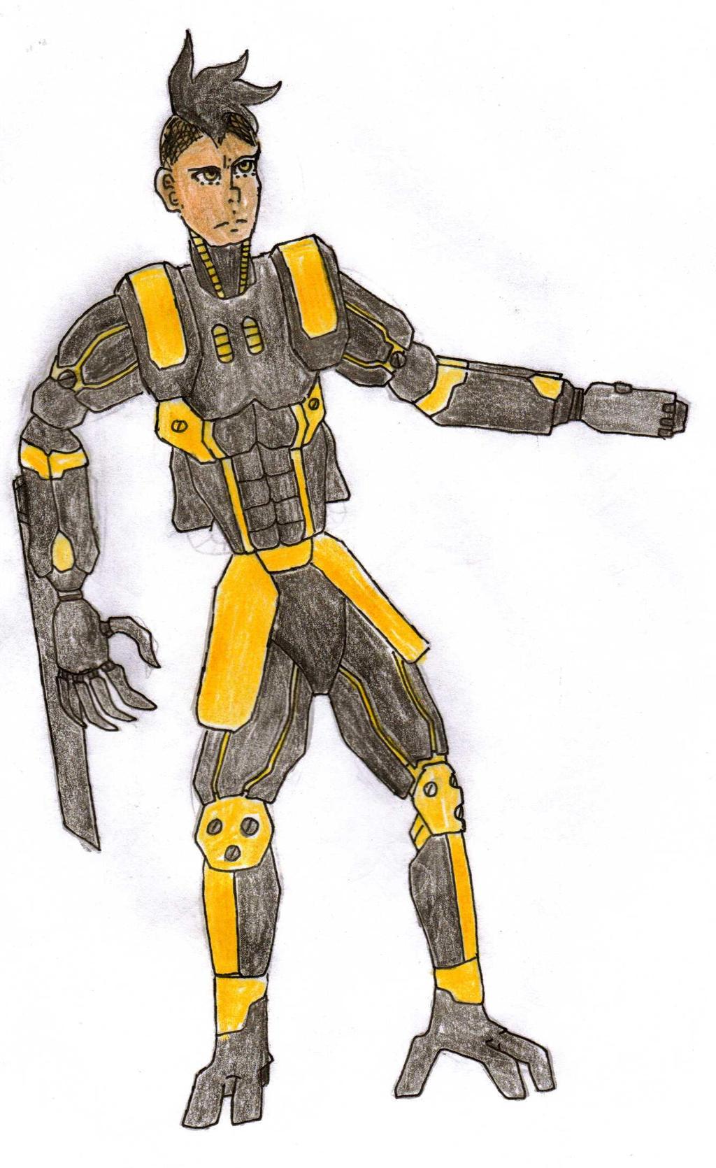 FWOG-Predator the Vengeful Warrior by Foxy-Knight