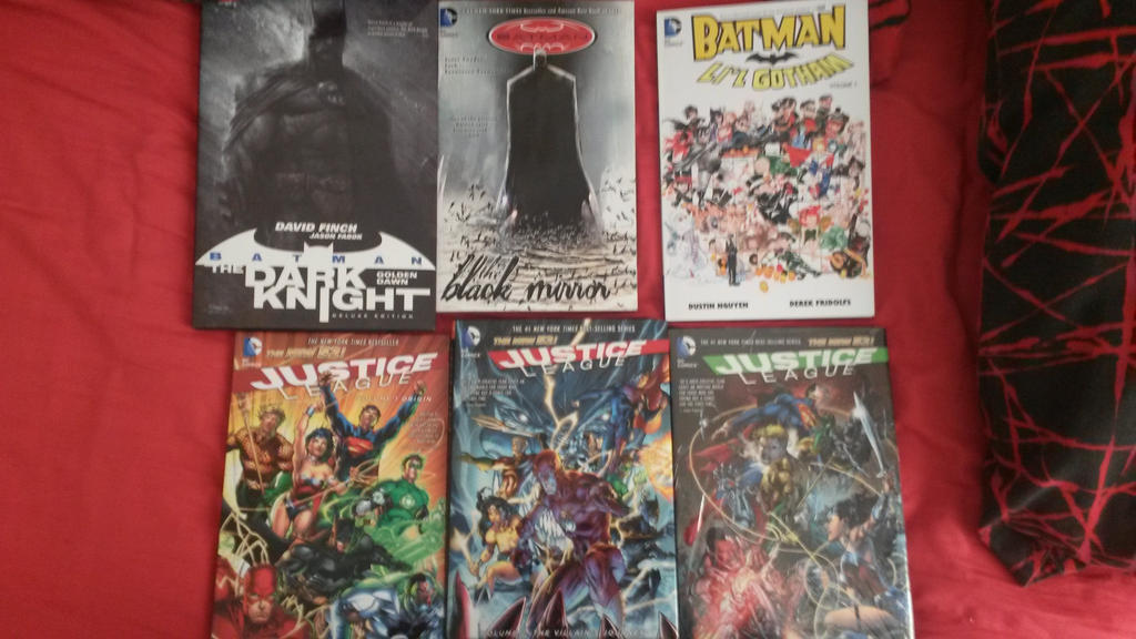 Birthday Comic haul by Foxy-Knight