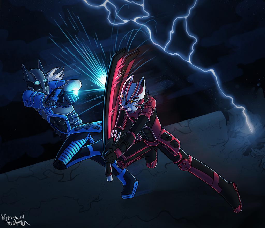 Hyperchronic art 2 by Foxy-Knight