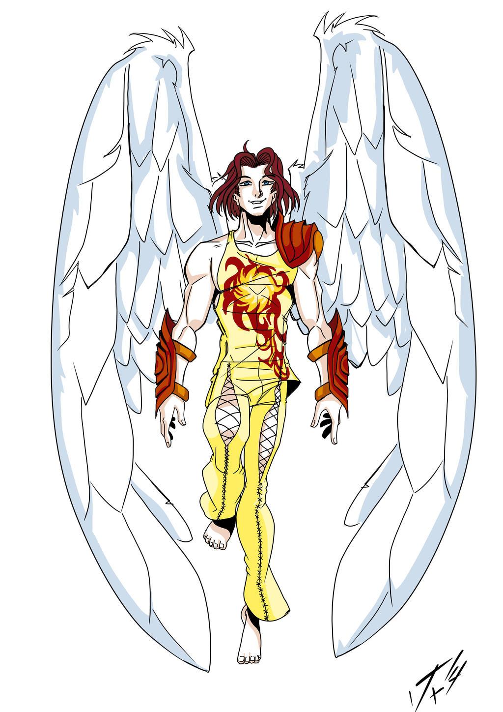 Angel-Harry Dark Judge Trilogy by Foxy-Knight
