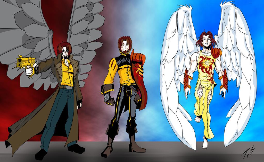 Harry Timeline-Dark Judge Trilogy by Foxy-Knight