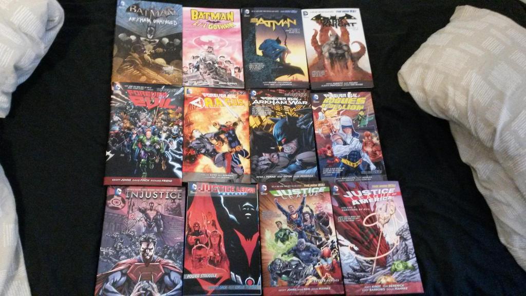 Comic Season 2014 part 3 by Foxy-Knight