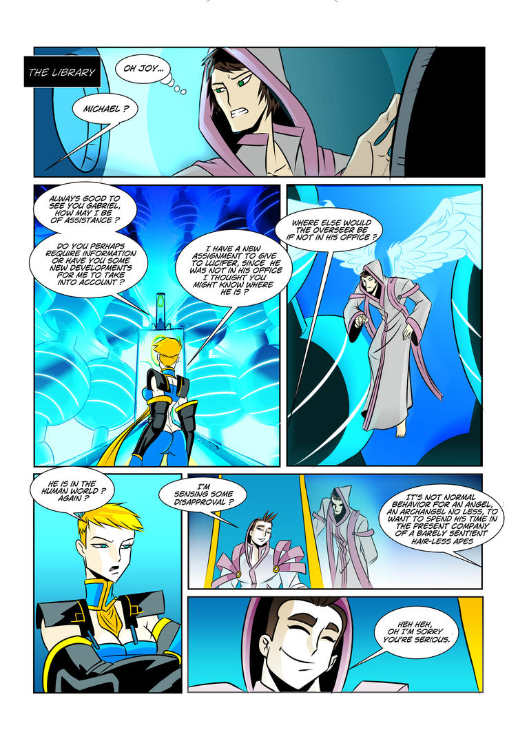 OHT Issue#1 Preview page by Foxy-Knight
