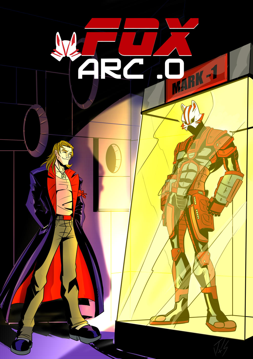 Fox Arc 0 Cover by Rouge-Fox