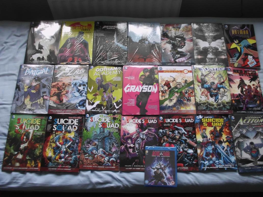 Comic Season August 2015 by Foxy-Knight