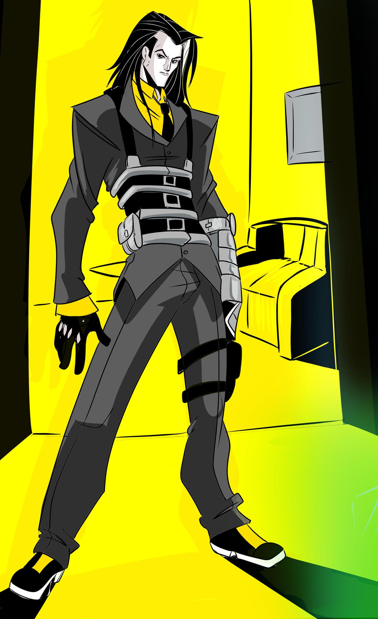 Human Angels Characters: John Doe by Foxy-Knight