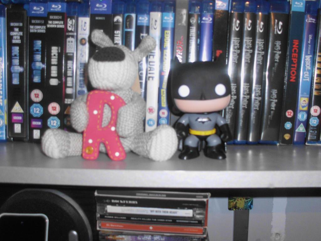 Batman and Boofle by Foxy-Knight