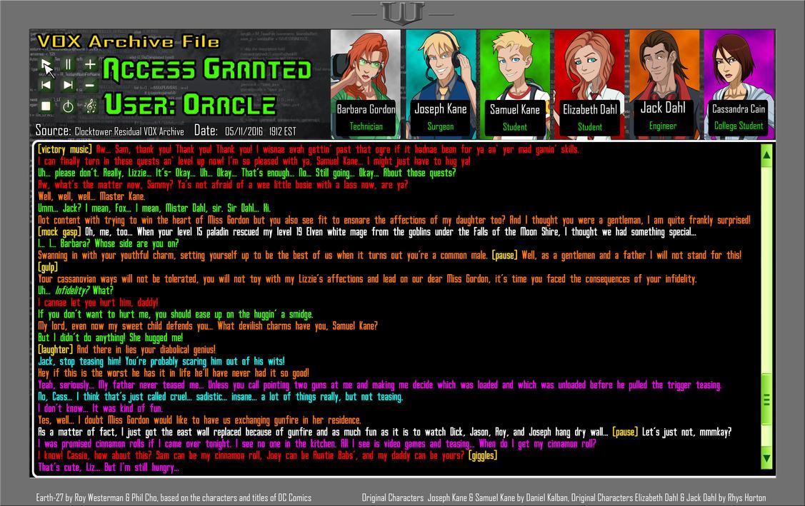Earth 27 VOX BOX 01---READ THE DESCRIPTION!! by Foxy-Knight