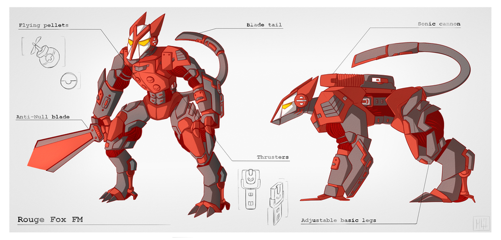TACTICALS FILES: M.A.T.A.S cn-ROUGE-FOX by Foxy-Knight